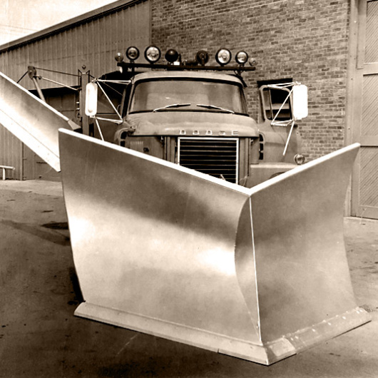 industrial v plow