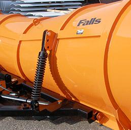falls plows snow plow