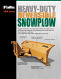 Heavy Duty Reversible Plow
