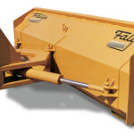 HDR Reversible Snow Plow falls plows