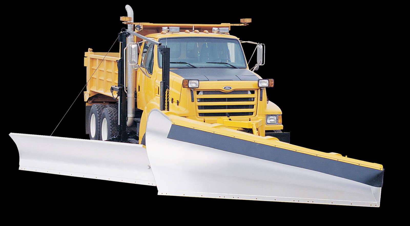 Heavy Duty W Series Snow Wing Truck Mount Municipal