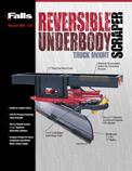 Falls Reversible Underbody Scraper