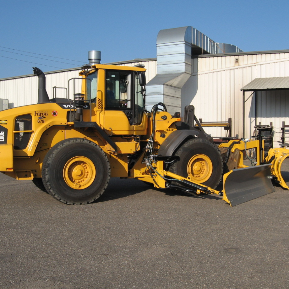 Volvo Loader Mounted Snow Wing | Loader Snow Wing, Volvo Snow Plow | Falls PlowsFalls Plows