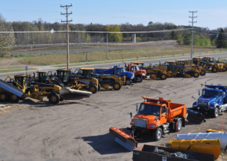 falls plows industrial snow plows