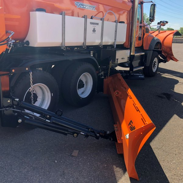 truck mount municipal truck snowplow snowplow blade mount falls