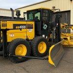 GD655 with snow wing